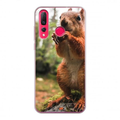 Huawei P30 Lite Soft case (back printed, transparent)