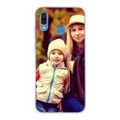 Coque personnalisée souple Honor Play (Bords transparent)