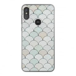 Coque personnalisée souple Motorola One Power (P30 Note) (Bords transparent)