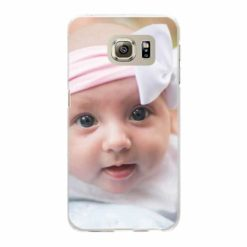 Coque personnalisée rigide Samsung Galaxy S6 Edge (Bords transparent)